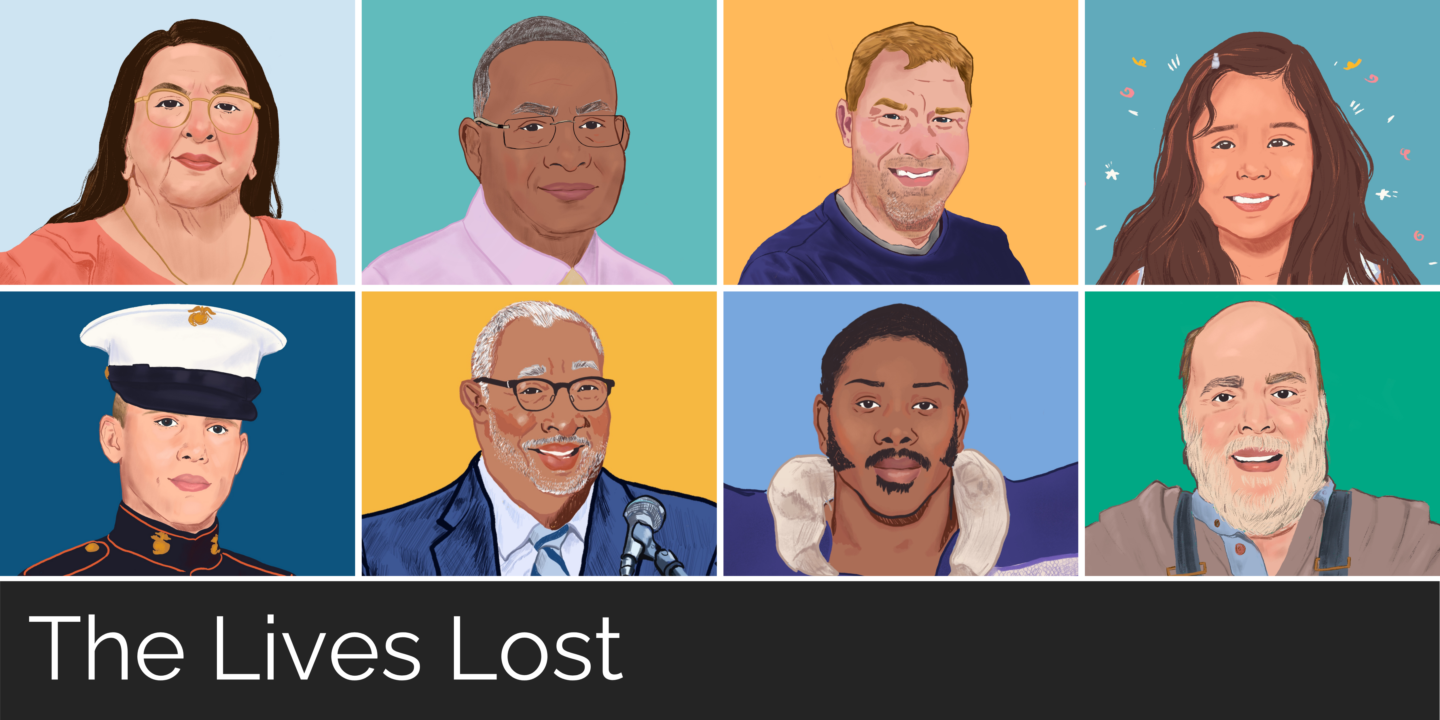 The Lives Lost: Portraits of North Carolinians We've Lost