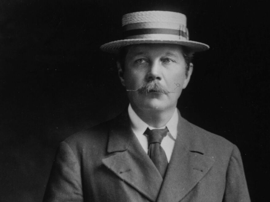 Arthur Conan Doyle, pictured above in 1905, is the creator of the Sherlock Holmes detective novels. His estate plans to appeal the federal judge's decision.