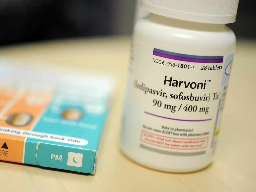 A 12-week regimen of Harvoni is 90 percent effective in curing an infection with hepatitis C, doctors say. It also costs about $95,000.