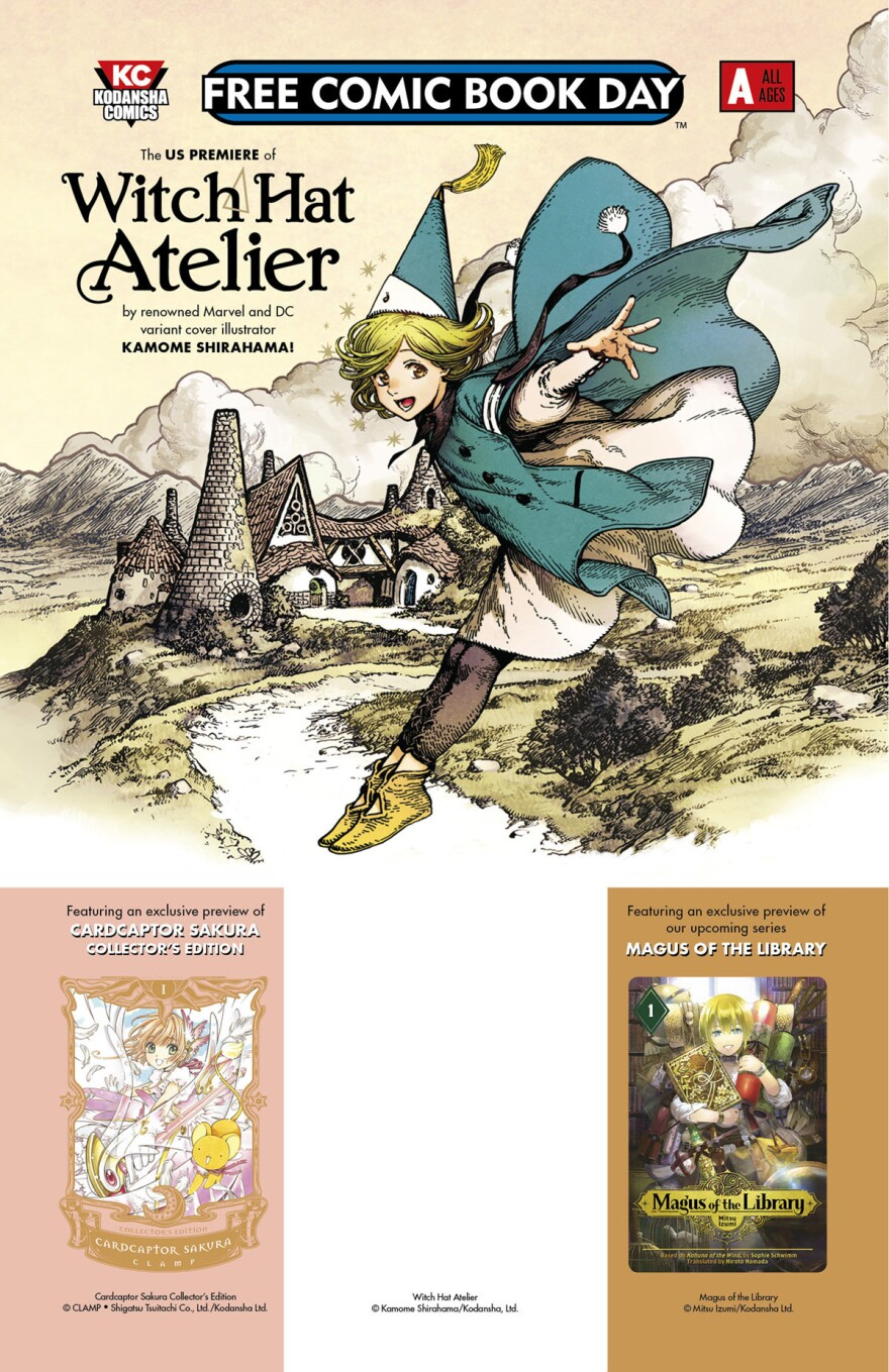 <em>Witch Hat Atelier etc.</em>