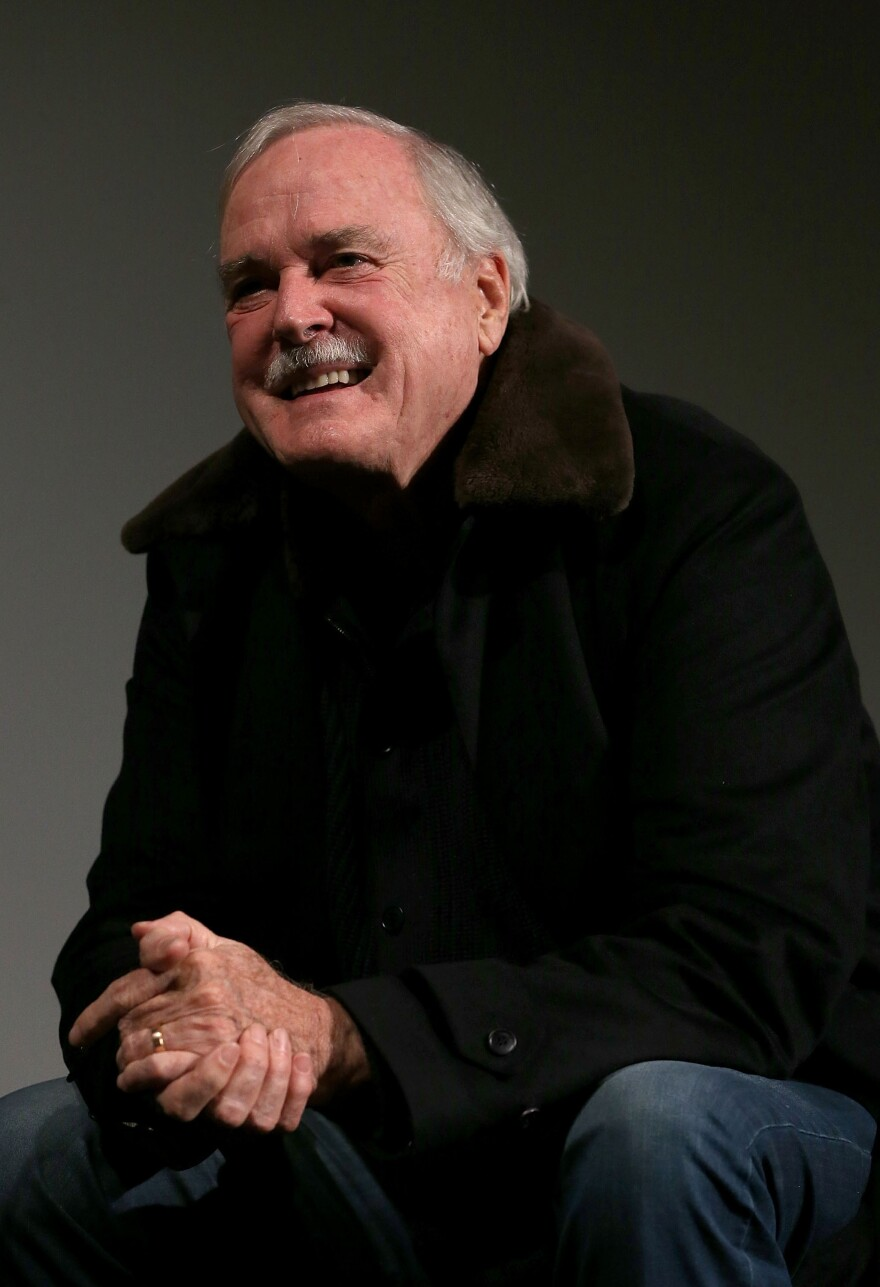 "Cleese says that compared to the production challenges he faced when working on <em>Fawlty Towers,</em> doing American sit-coms felt like ""the Rolls Royce way of making comedy."""