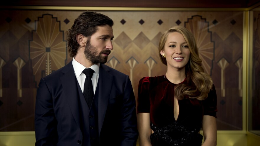 Michiel Huisman and Blake Lively in <em>The Age of Adaline.</em>
