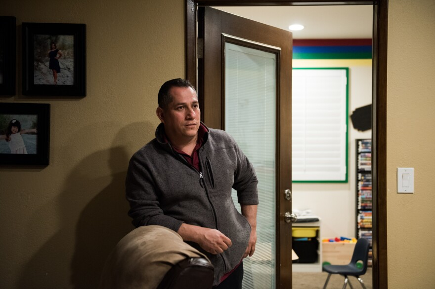 """Cesar Garcia was hit with a $31,000 legal bill after he converted his back patio into a room without a permit. """"I know that I did wrong in not asking for the permit. But I think to lose my house — it's too much."""""""
