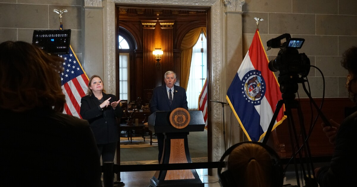 Parson Calls Second Special Session, More Details Given On Coronavirus Vaccine Plan