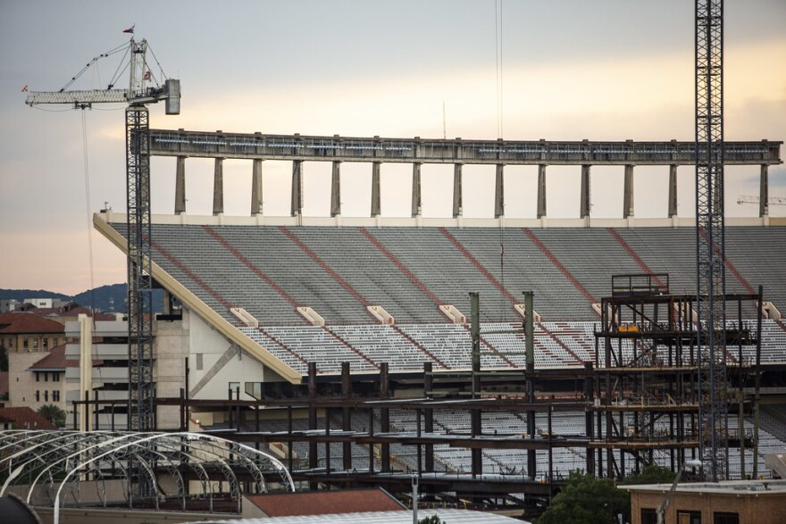 UT's Daniel K. Royal Memorial Stadium