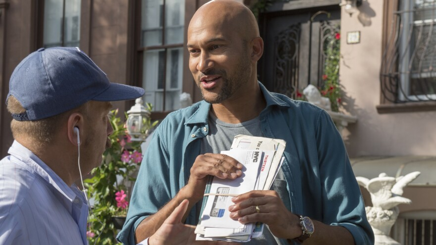 In <em>Friends From College</em>, Keegan-Michael Key plays an author who has moved to New York with his wife, where they're both reunited with old college friends.