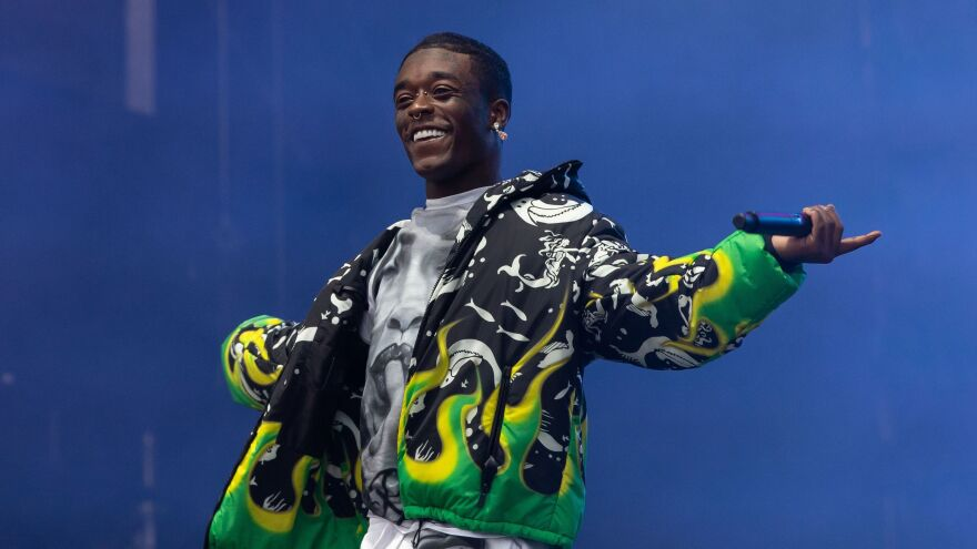 Lil Uzi Vert performs at the Austin City Limits Music Festival on October 11, 2019 in Austin, Texas.