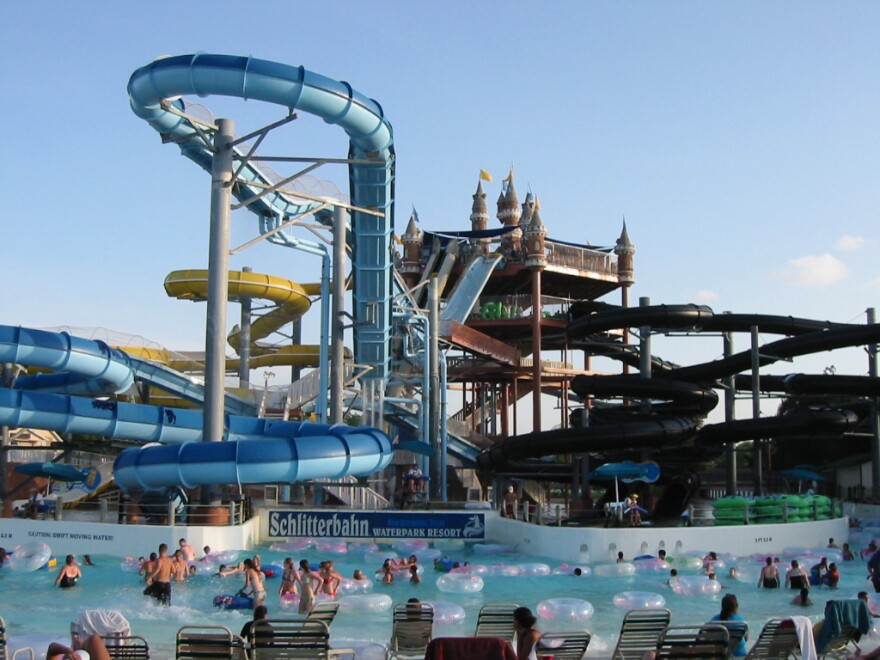 Schlitterbahn said in a news release it sold a water park and resort in New Braunfels, Texas, and another property in Galveston, Texas, to Cedar Fair Entertainment Co.