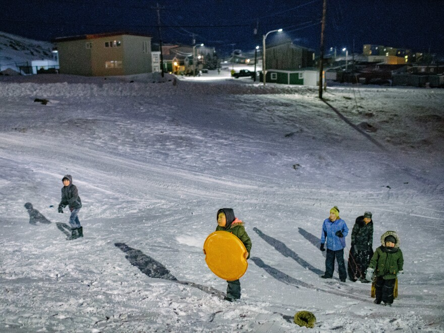 A lot has changed in the Arctic since the Canadian government forced Inuit families to settle in towns. But the community is trying to preserve traditional parenting practices.