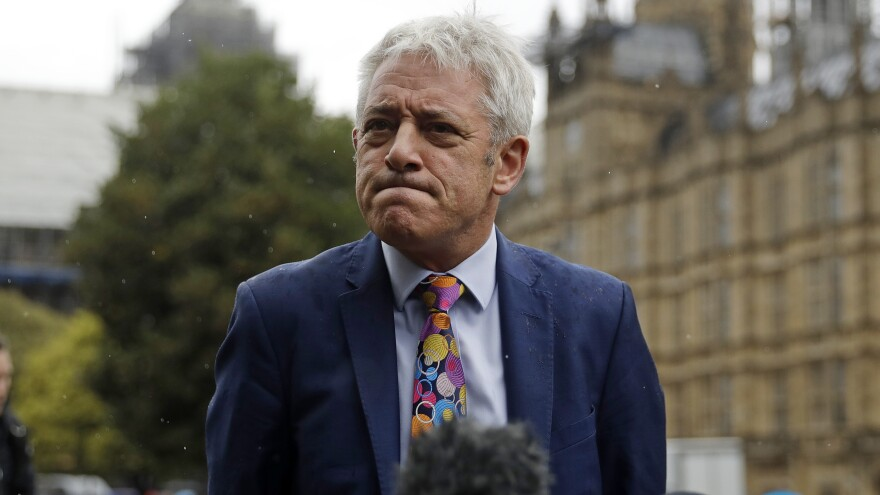 Speaker of the House of Commons John Bercow says lawmakers will meet on Wednesday, after Britain's Supreme Court voided the suspension of Parliament.