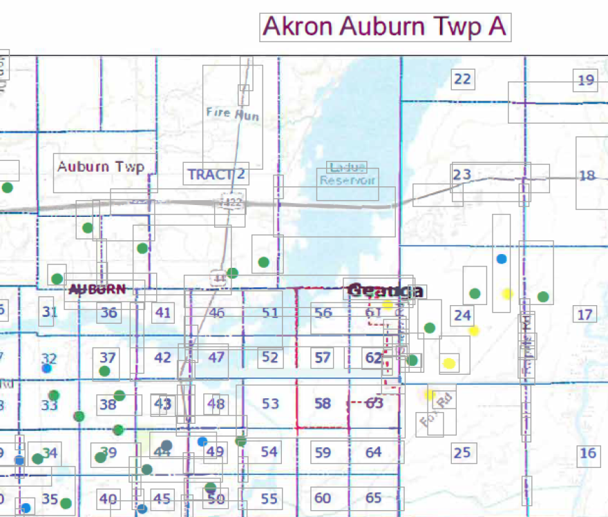 city of akron proposed drilling area.PNG