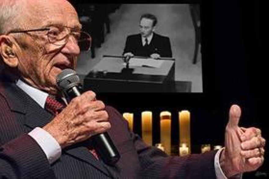 Ben Ferencz is still invited to speak about his life and his story.