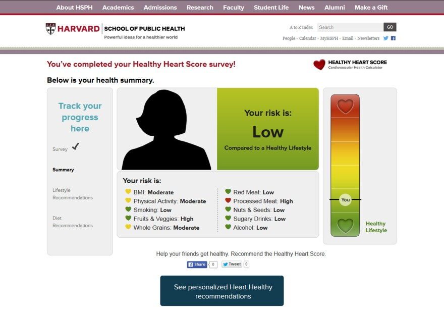 Here's my risk profile. Note the risky red heart due to bacon-eating.