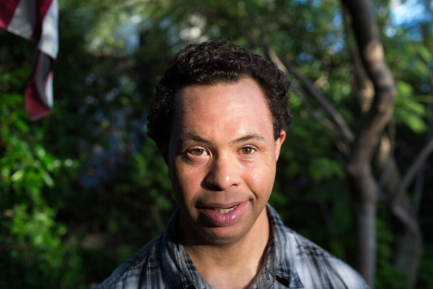 Justin McCowan, 39, has Down syndrome and lives at home with his parents in Santa Monica, Calif.