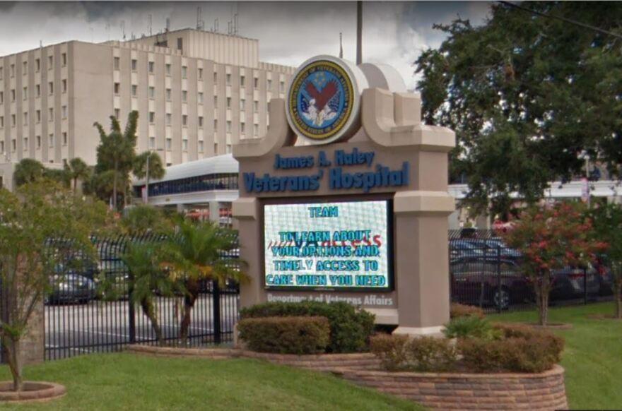 Tampa VA hospital.