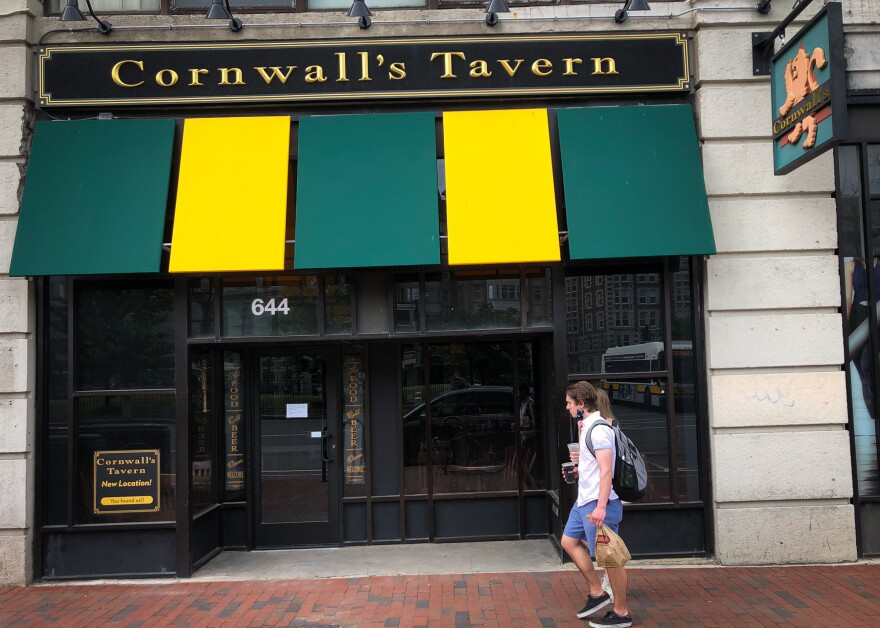 Cornwall's, a decades-old institution in Boston's Kenmore Square, remained dark and locked up for more than three months.