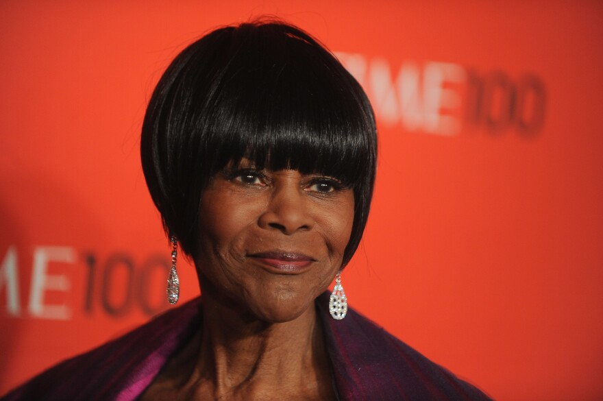 Cicely Tyson attends the TIME 100 Gala in 2012. The famed actress died at the age of 96. Tyson inspired generations of African American actors who grew up watching her perform on stage and on screen.
