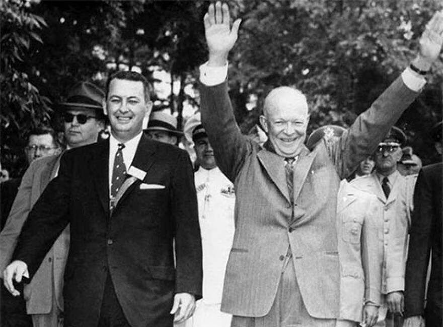 Phil Van Every and Dwight D. Eisenhower