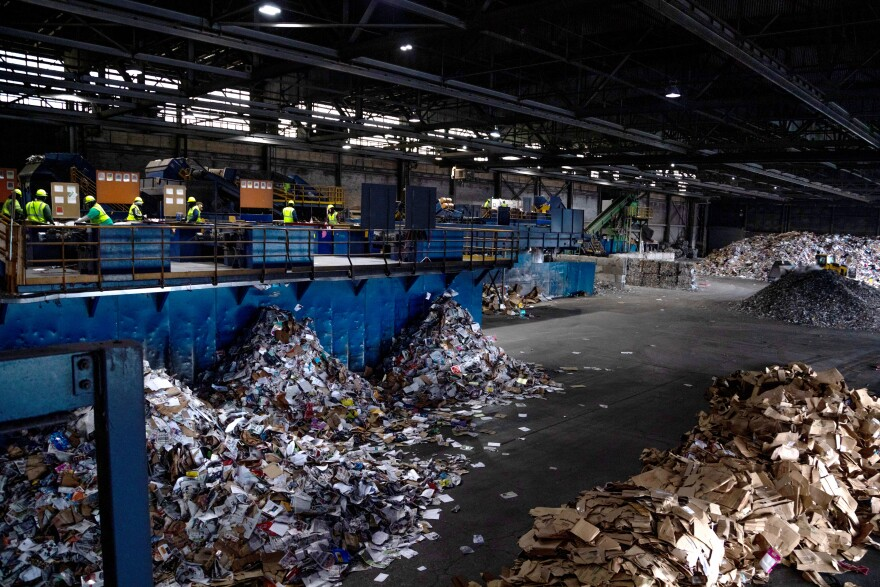 a photo of the MRF in Akron