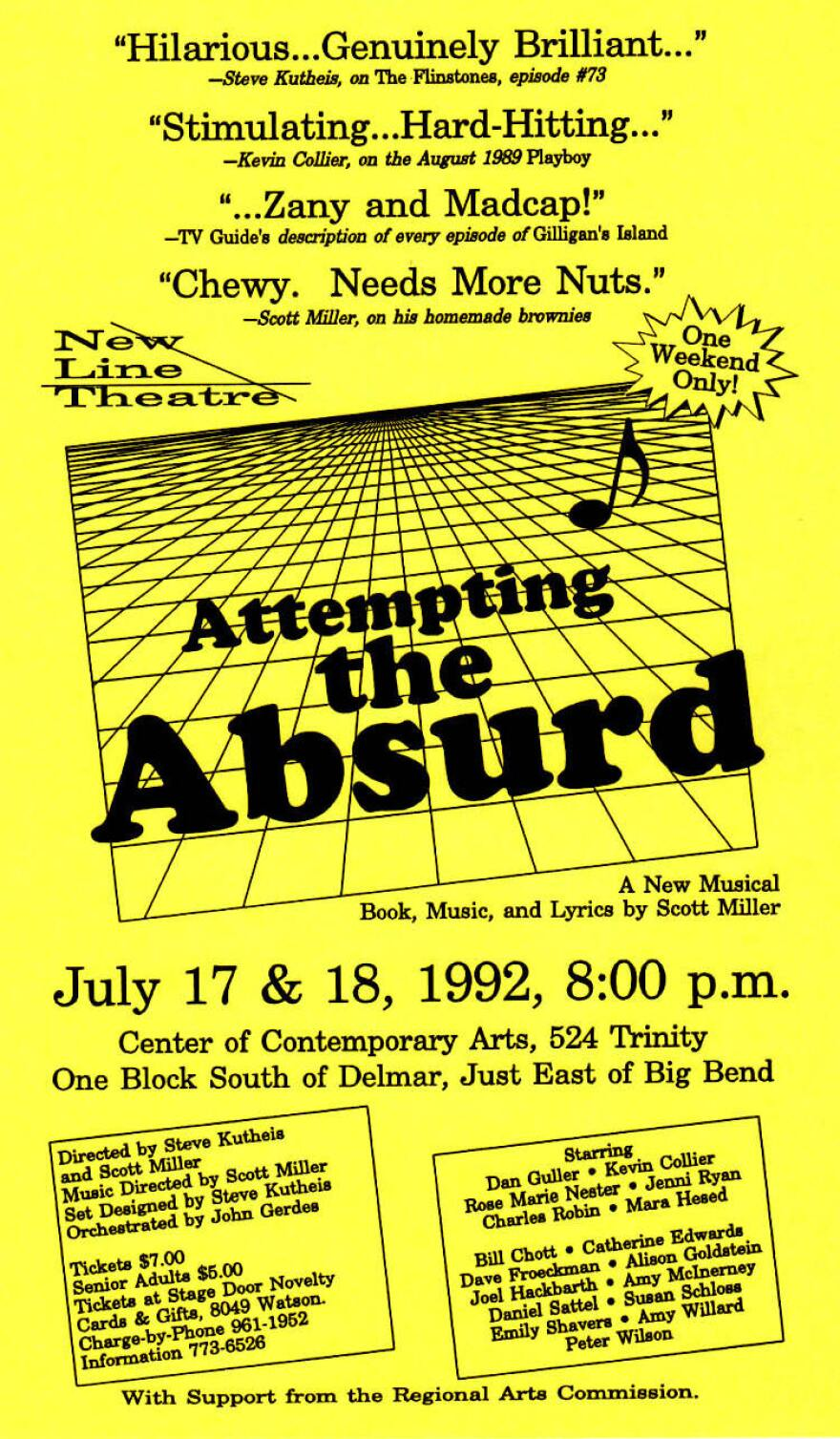 Poster for 2001's Attempting the Absurd