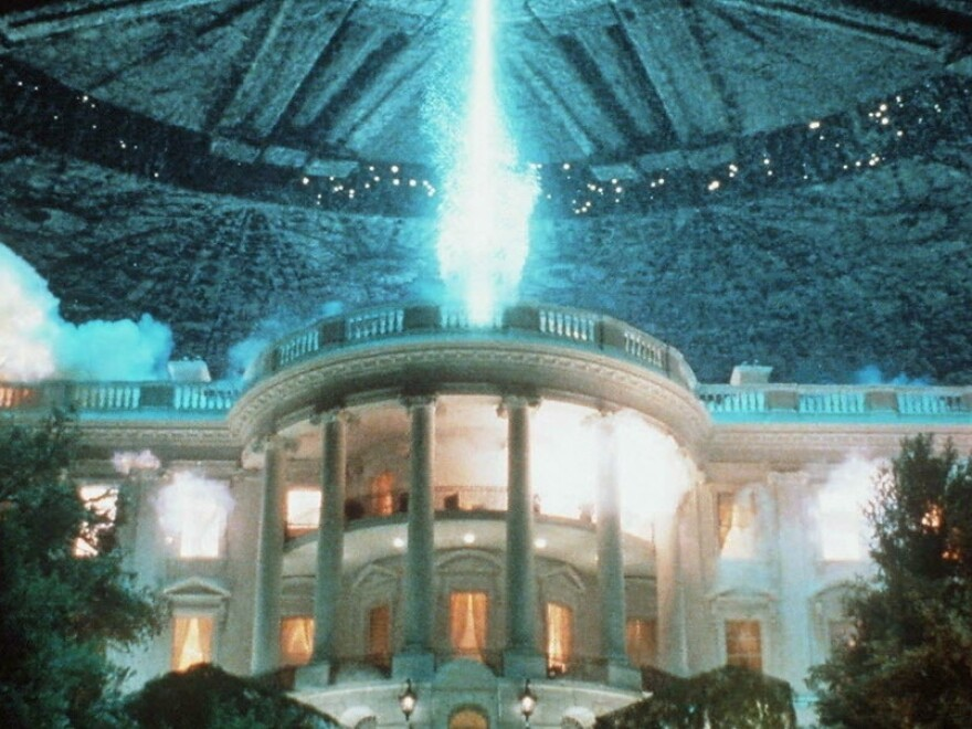 In the 1996 20th Century Fox film <em>Independence Day, </em>the White House did not fare well.