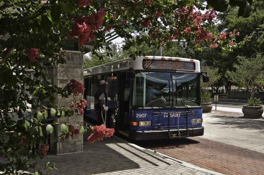 A Hillsborough County bus