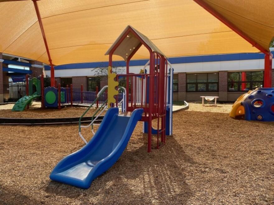 Hartsfield Elementary School Playground (Lynn Hatter WFSU)