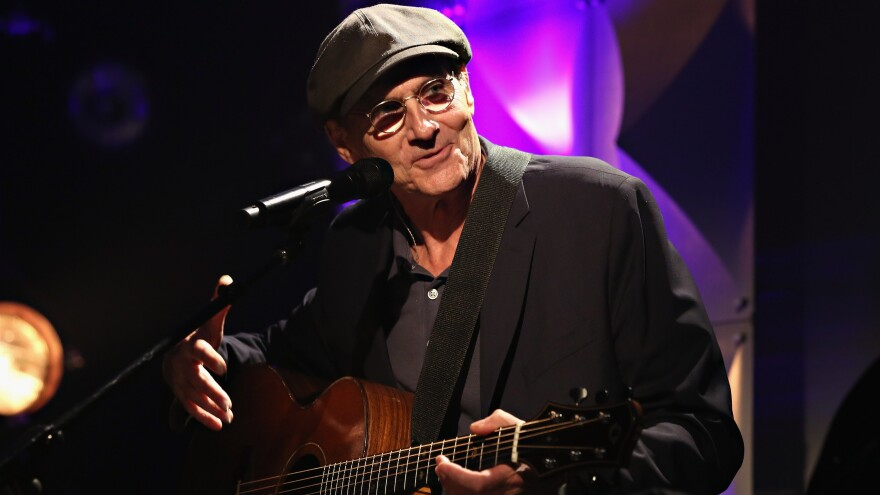 James Taylor performs at the iHeartRadio Theater in June 2015, in New York City.