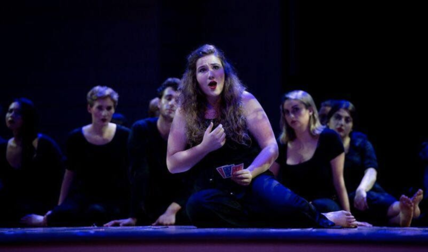 Lydia Grace Graham, seen here on stage in 2018, took second place in the Opera Guild of Dayton's Tri-State Vocal Competition. The competition is one way the guild helps support aspiring artists who are from the region or studying in the region.