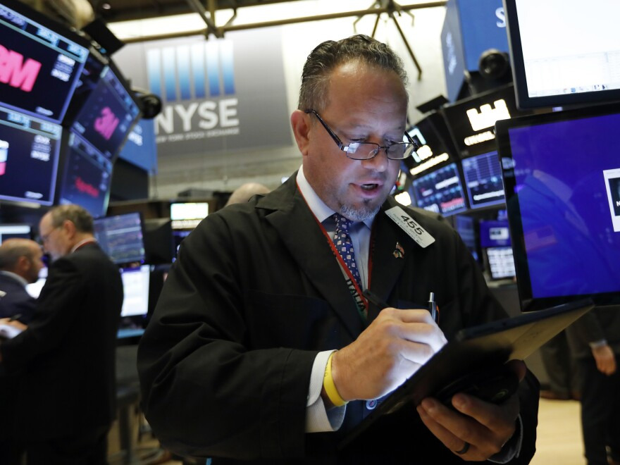 U.S. stock indexes tumbled, then rebounded Wednesday amid an escalating trade war between the United States and China.