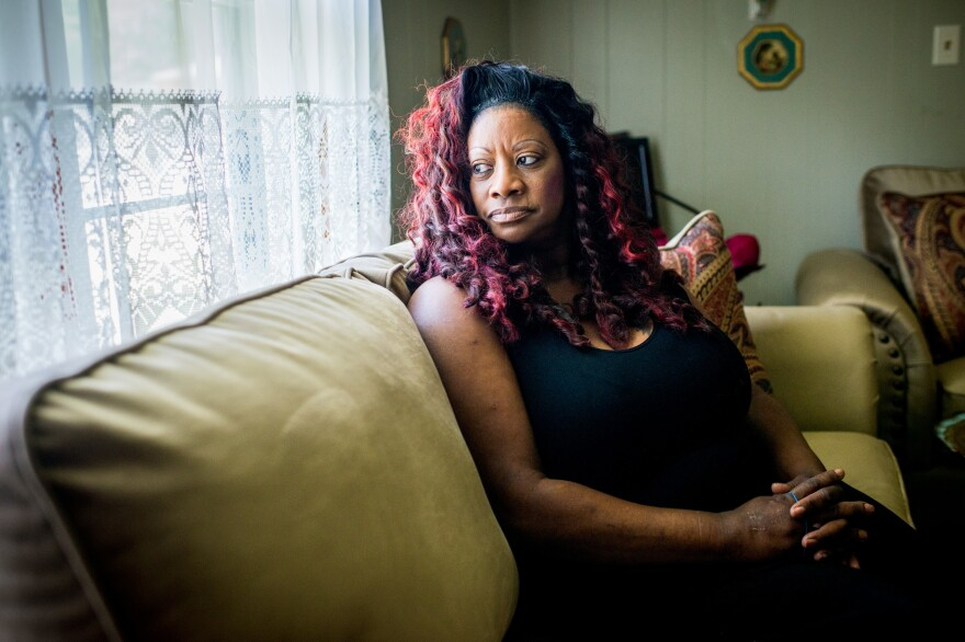 Sheryl Johnson was diagnosed with hepatitis C in the early 2000s. She is waiting for Sovaldi, a treatment that can cure the illness, to be covered by Medicaid.