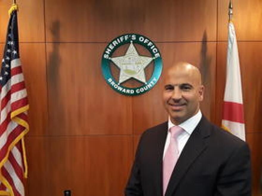 Captain Michael Riggio was the number two for counterterrorism for the New York City Police Department before being hired away by the Broward Sheriff's Office.