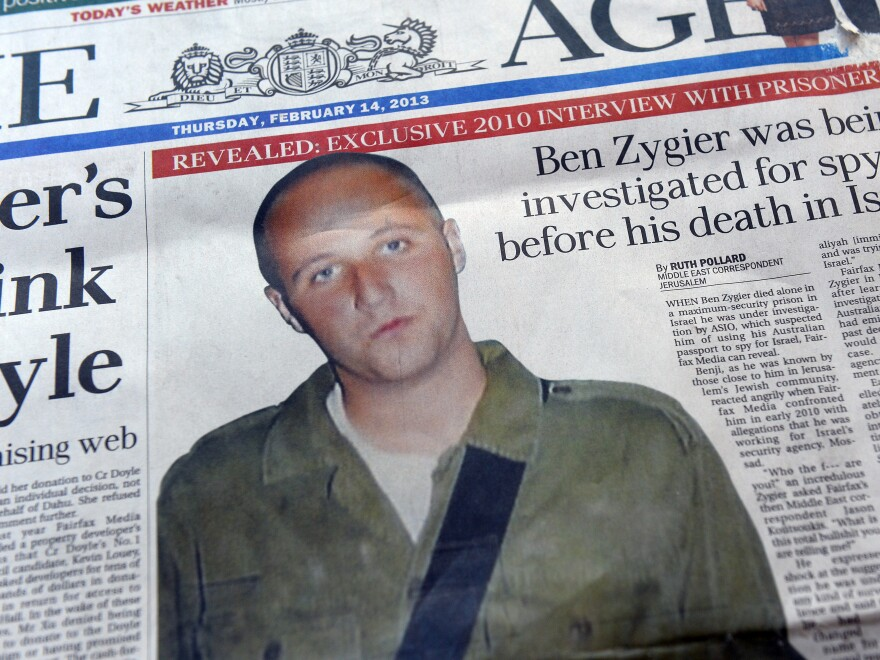 """The story of """"Prisoner X"""" is dominating the media in both Australia and Israel."""