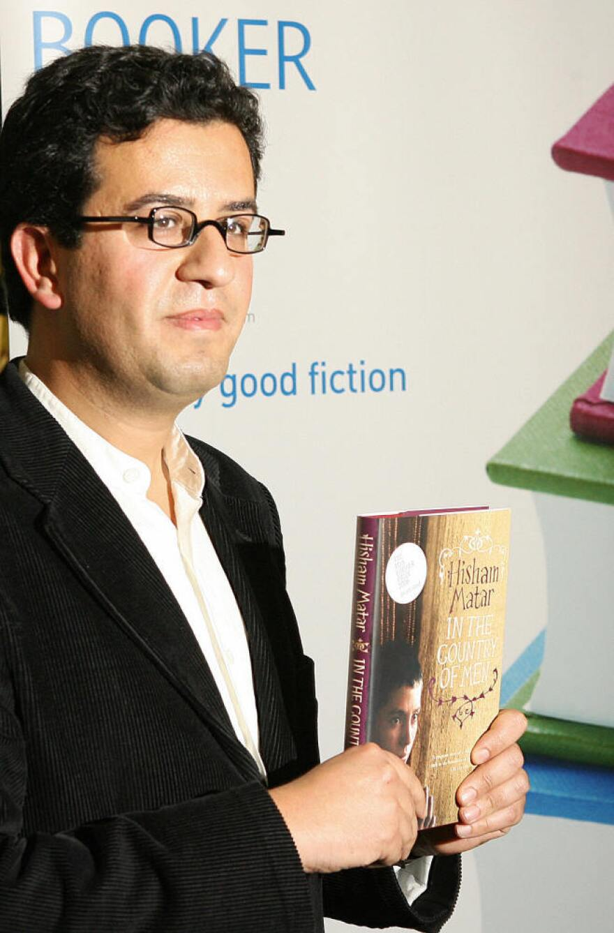 Man Booker Prize for Fiction 2006 shortlisted author Hisham Matar poses for photographers in London.
