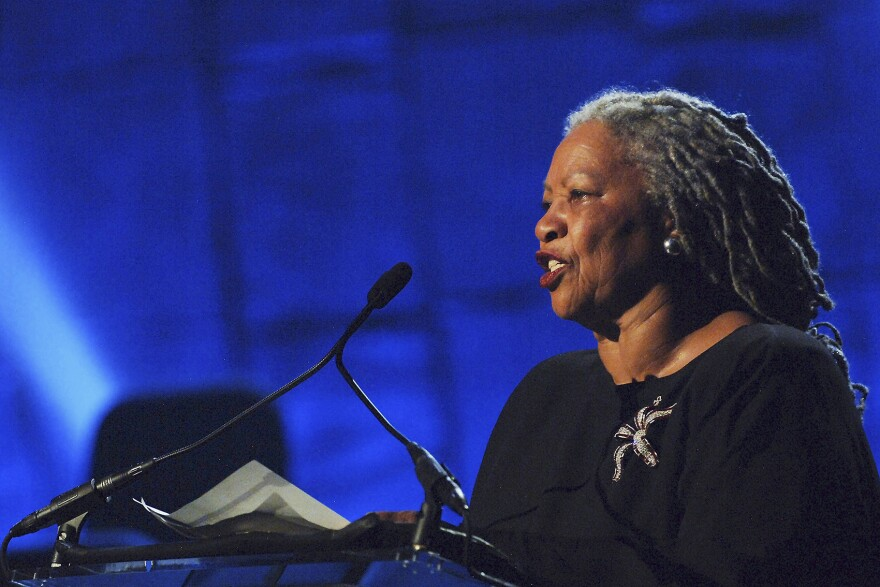 Author Toni Morrison performs at the Jazz At Lincoln Center's Concert For Hurricane Relief at the Rose Theater on Sept. 17, 2005 in New York City. (Brad Barket/Getty Images)