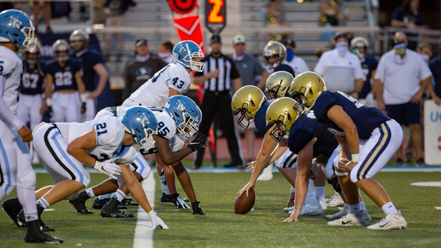The Briarwood Christian Lions and Spain Park Jaguars faced off in Hoover, Ala. on August 28. It was their second game of the season being played during the coronavirus pandemic.