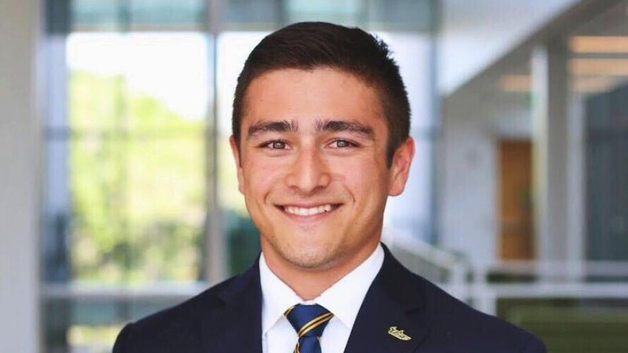 Geoffrey Watters is a senior Global Business major at the University of South Florida St. Petersburg.
