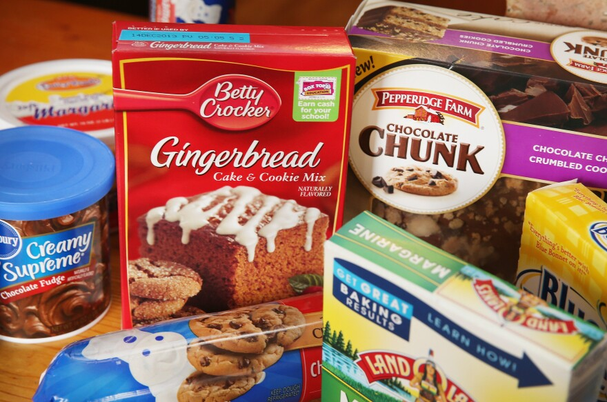 Various food items that contained trans fats in November 2013. That month, the Food and Drug Administration first announced plans to ban partially hydrogenated vegetable oils from all food products. A final rule is expected any day now.