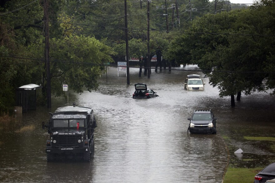 Flooding in Houston after Harvey