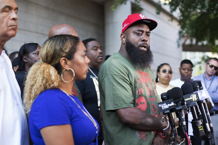 Michael Brown Sr. calls on St. Louis County Prosecutor to reopen the investigation into the fatal shooting of his son on August 9, 2019