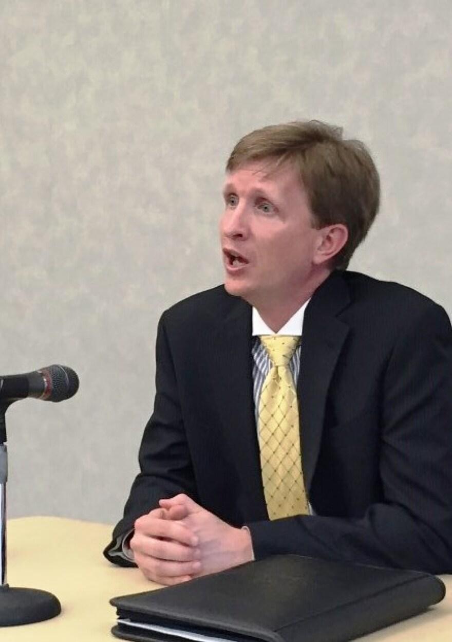 photo of Matthew Wilson, University of Akron