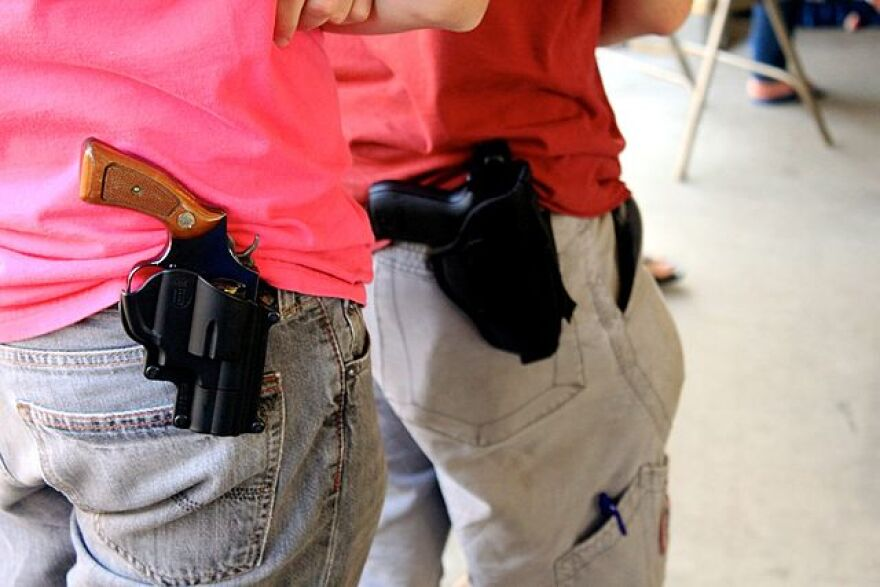 A Texas lawmaker is worried blacks will be harassed more often for open carry than whites. His amendment may have opened a back door to unlicensed carry statewide.