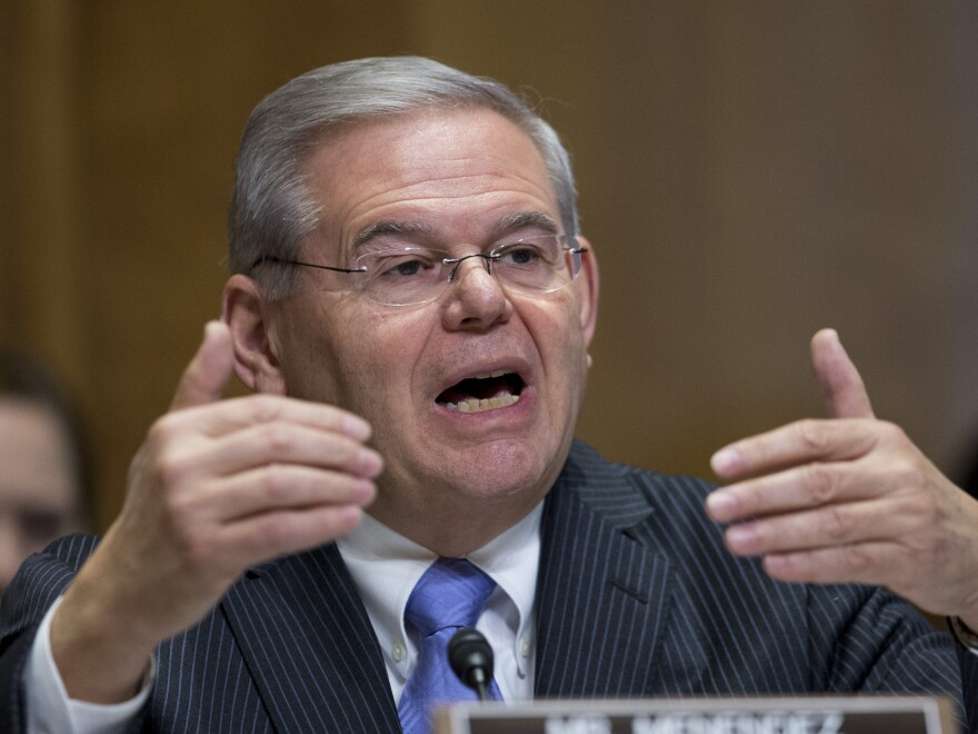 The Justice Department is planning to bring corruption charges against Sen. Robert Menendez, D-N.J., alleging that he did political favors for a friend and donor, NPR has confirmed.