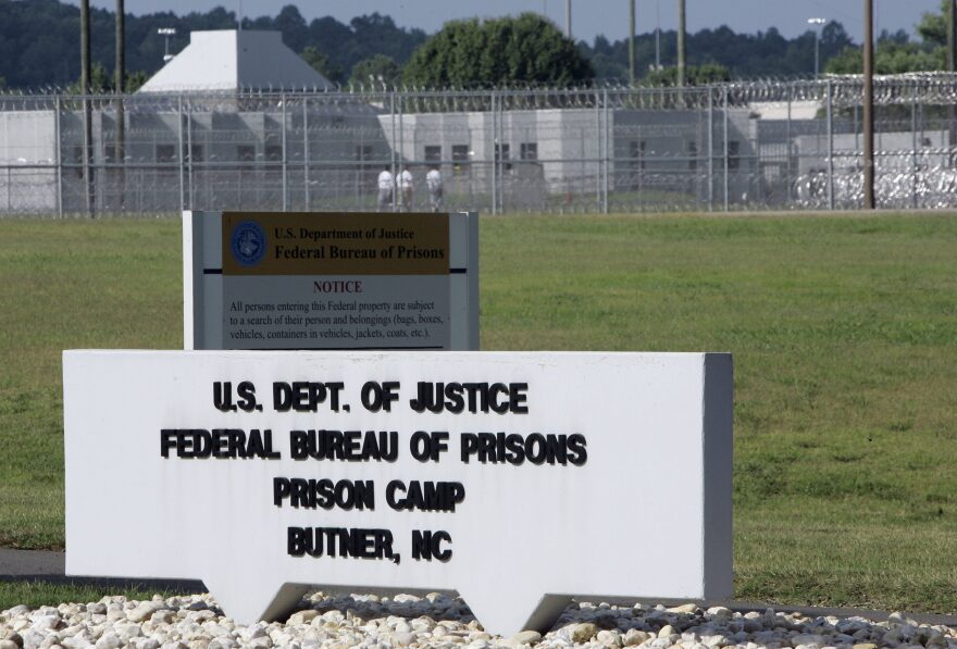 The Butner Federal Correctional Complex is seen in Butner, N.C., Monday. (Gerry Broome/AP)