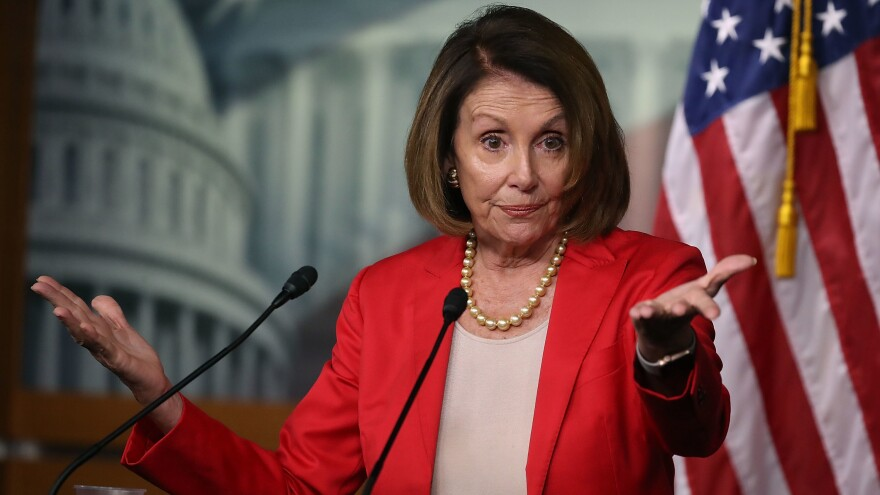 Nancy Pelosi could be restored as House majority leader if the Democrats do well in the midterms. Democrats have placed their chips as they try to unseat Republicans — but not on Russia red.
