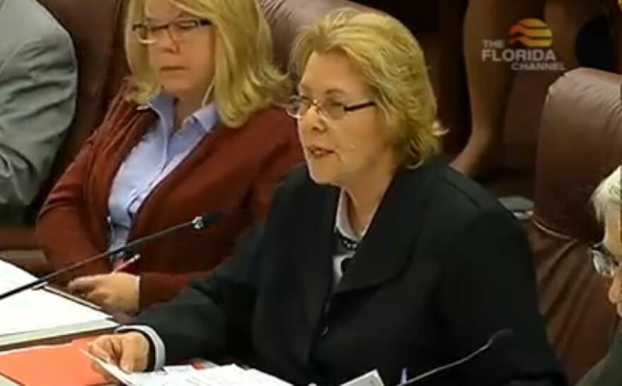 Sen. Dorothy Hukill (R-Port Orange)