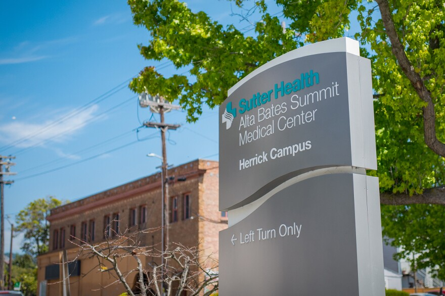 Sutter Health Alta Bates Summit Medical Center, in Oakland, Calif. is one of hundreds of hospitals serving poor patients that will get some reprieve from Medicare's readmissions penalties.