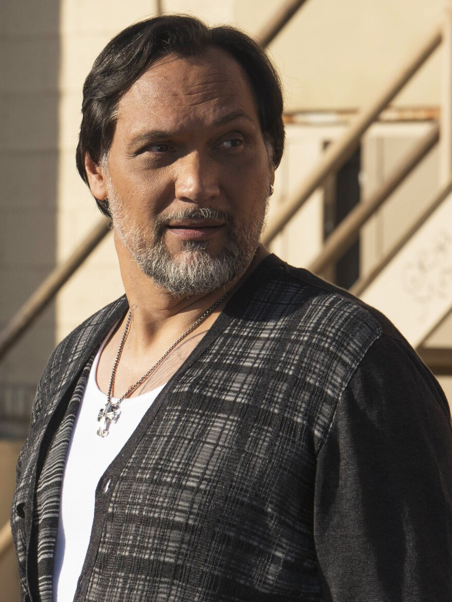 Jimmy Smits plays gang leader Nero Padilla.