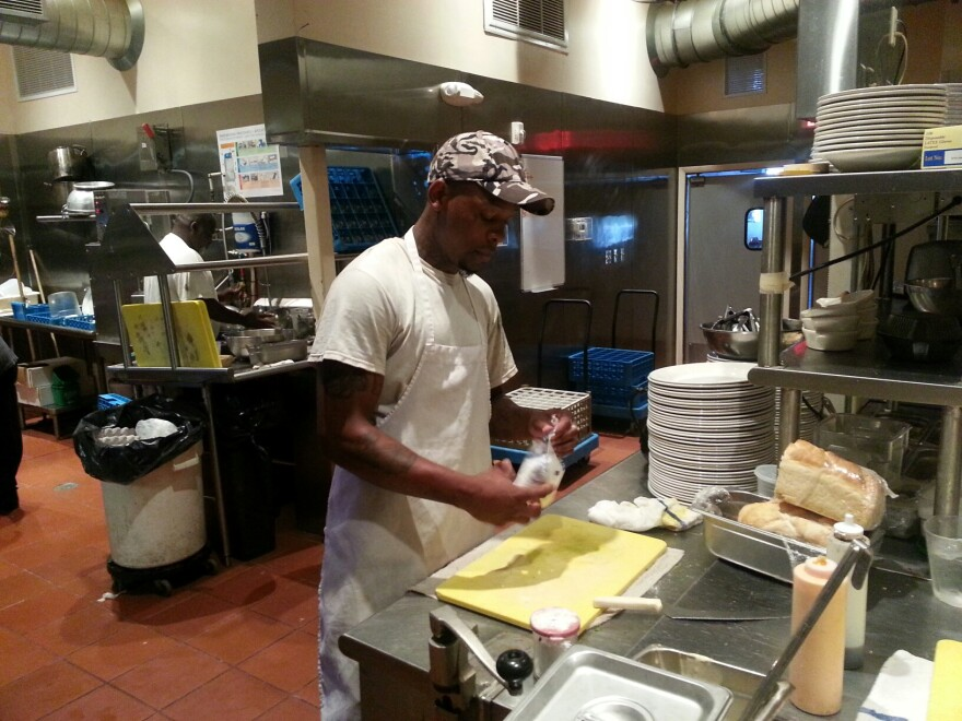 Polonzo Bistro in Pensacola provided internship opportunities for adults with disabilities this past fall.