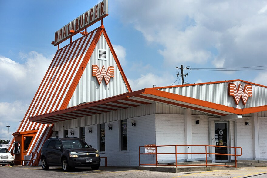 a Whataburger restaurant